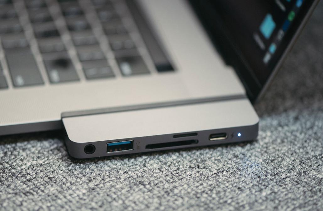 Cổng chuyển/ Hub USB Type-C 6in1 HyperDrive Dành Cho iPad Pro 2018-2020 và Macbook/Laptop/Smartphone (Grey) - Hàng Chính Hãng