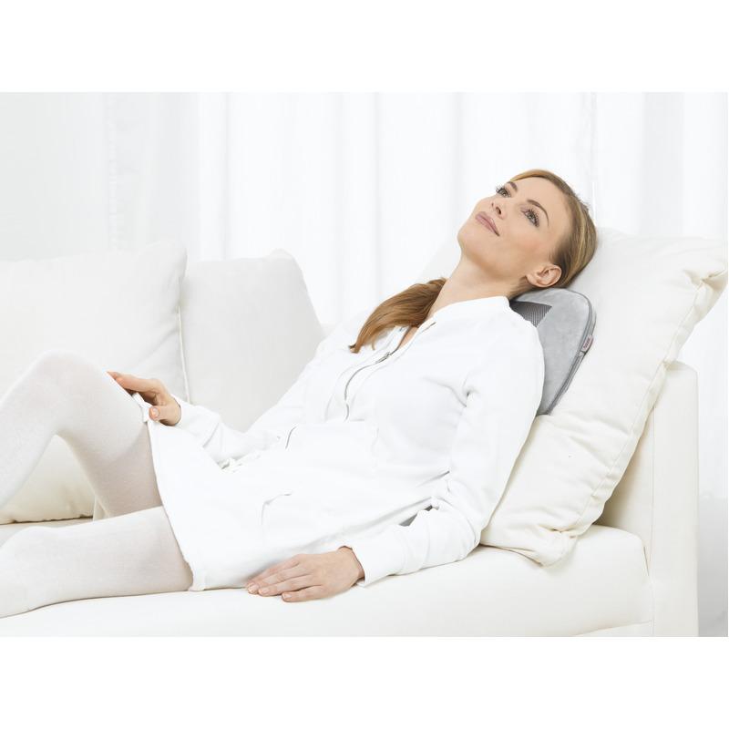 Combo Gối Massage Có Đèn Hồng Ngoại Beurer - MG 145 + Nhiệt Kế Điện Tử Đầu Mềm Medilife ( hình thú ngẫu nhiên )