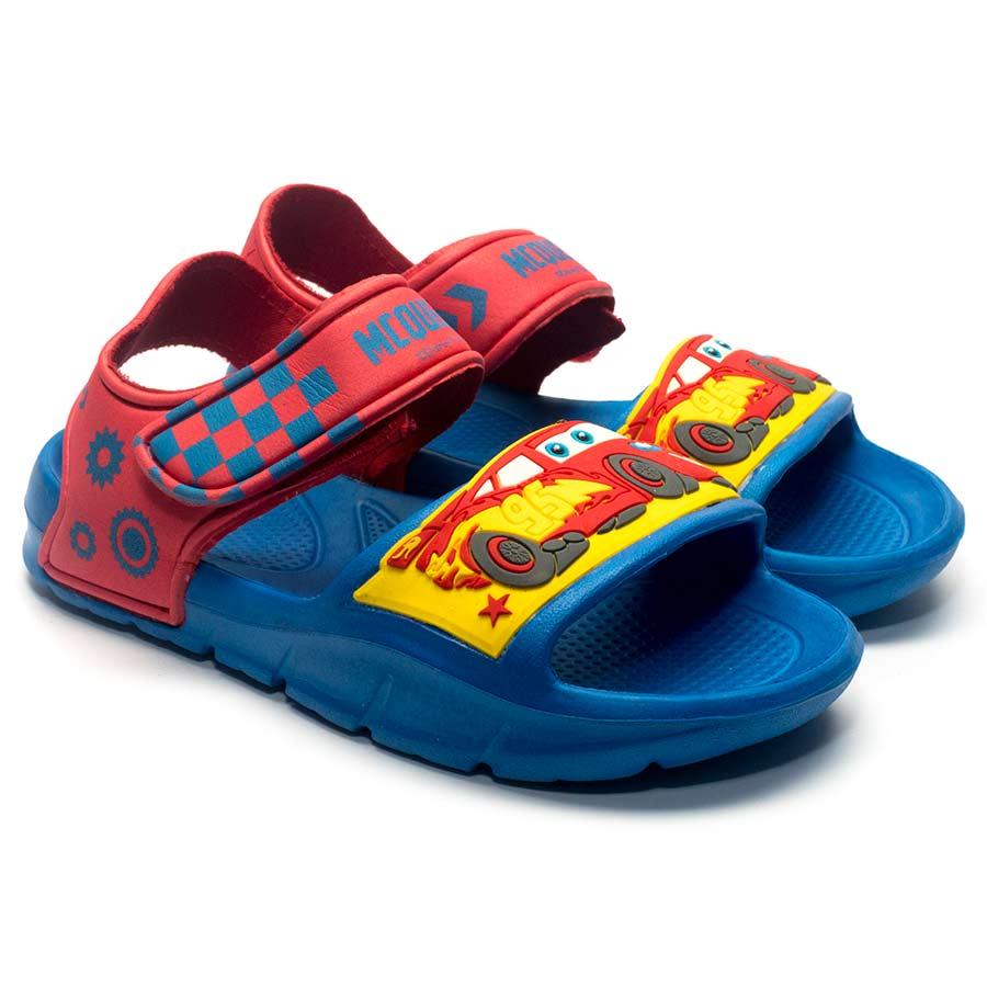 Sandal Nam Vương Quốc Xe Hơi Disney CARS Royal CAR 018 - Đỏ Size 30