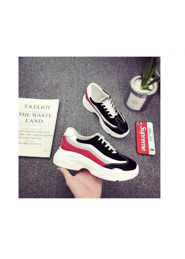 Giày Sneaker Nữ YAMET YM59BR Màu Đen