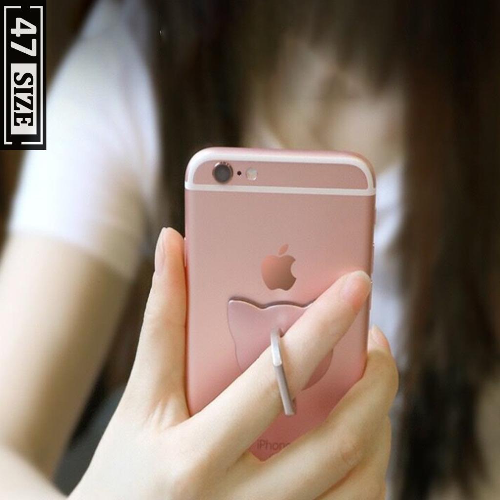 Nhẫn đỡ điện thoại chống rơi chắc chắn, xoay 360 độ tiện lợi