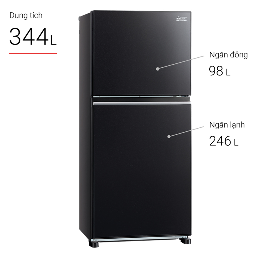 Tủ Lạnh Inverter Mitsubishi Electric MR-FX43EN-GBK (344L) - Hàng chính hãng