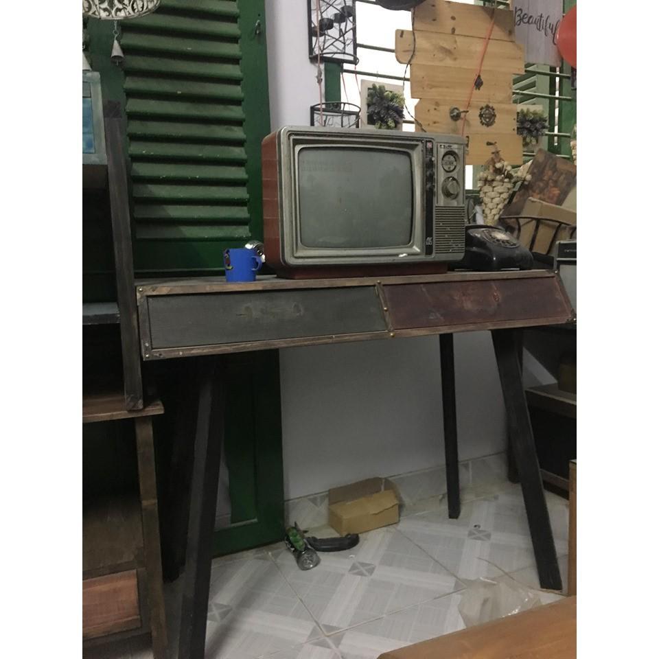 Bàn gỗ vintage BG5-01