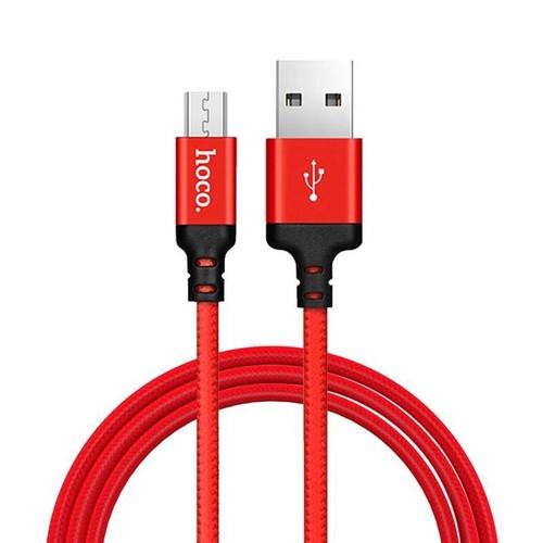 Cáp Sạc Dây Dù MICRO USB  Hoco X14 Chính Hãng Chống Đứt, Chống Rối - Cáp Sạc MICRO USB (màu ngẫu nhiên) -1M
