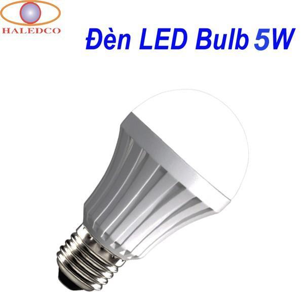 Đèn LED Bulb 5W đui E27 hiệu suất chiếu sáng cao, tiết kiệm 80% điện