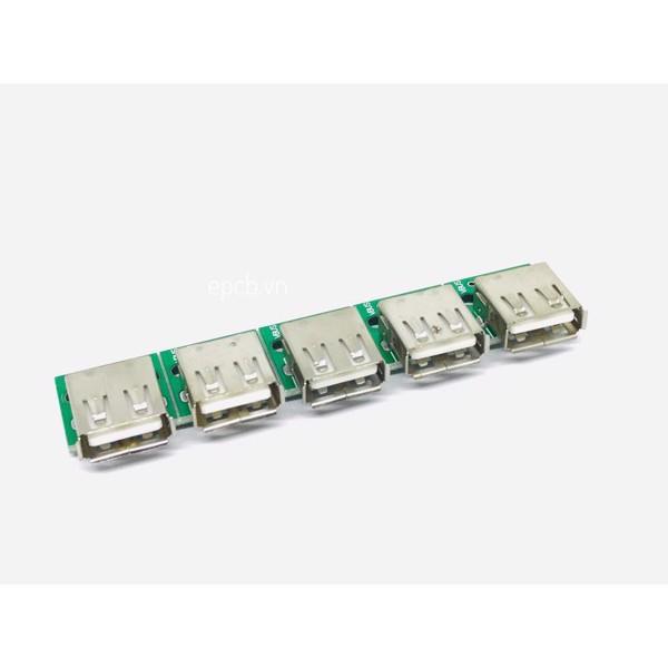 Mạch ra chân USB 2.0 (Cái) 4 chân 2.54 MM