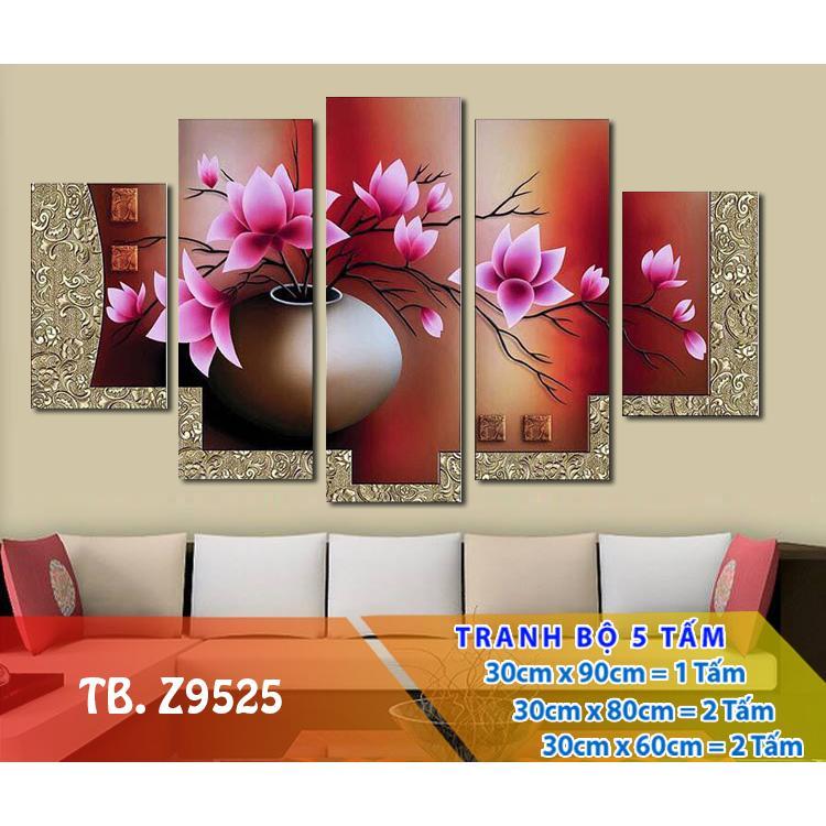 Tranh Treo Tường Hoa 3D