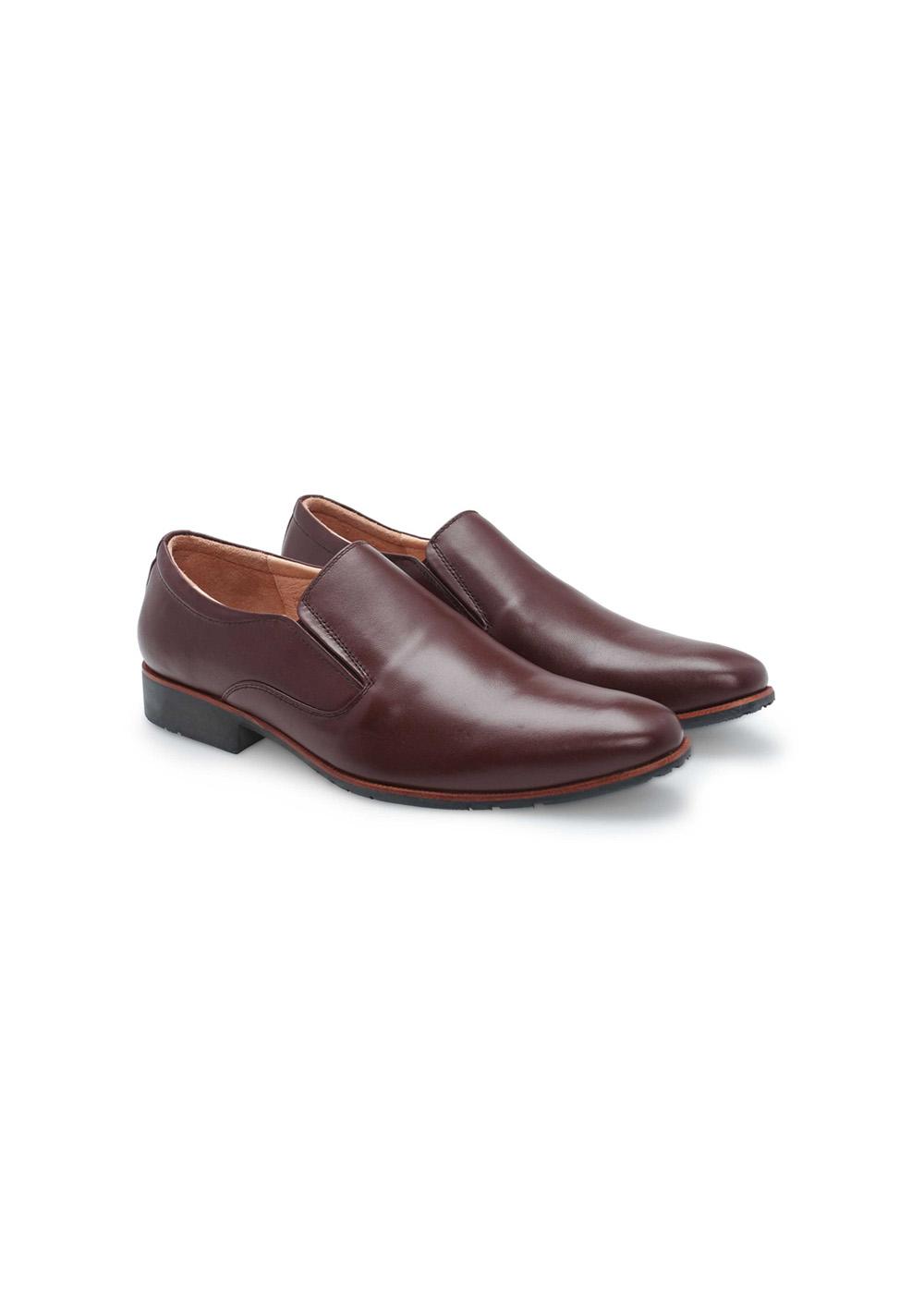 Giày tây nam công sở không dây lịch lãm thương hiệu PABNO - PN109