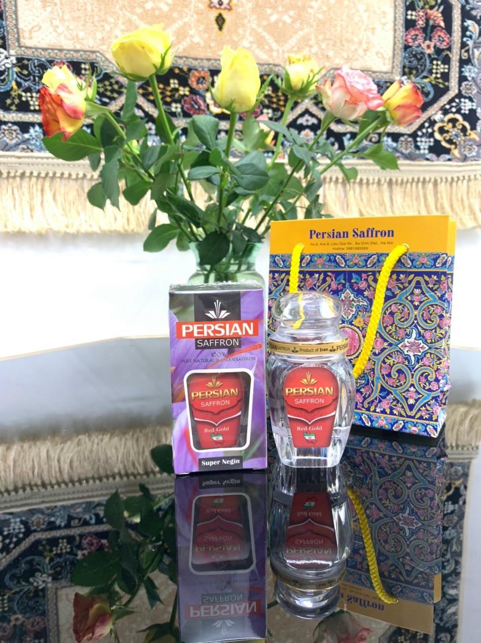 Nhụy hoa nghệ tây Iran Persian Saffron