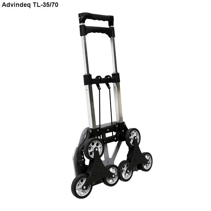 Xe kéo đẩy leo cầu thang 6 bánh gấp gọn ADVINDEQ TL-35/70 - Hàng chính hãng