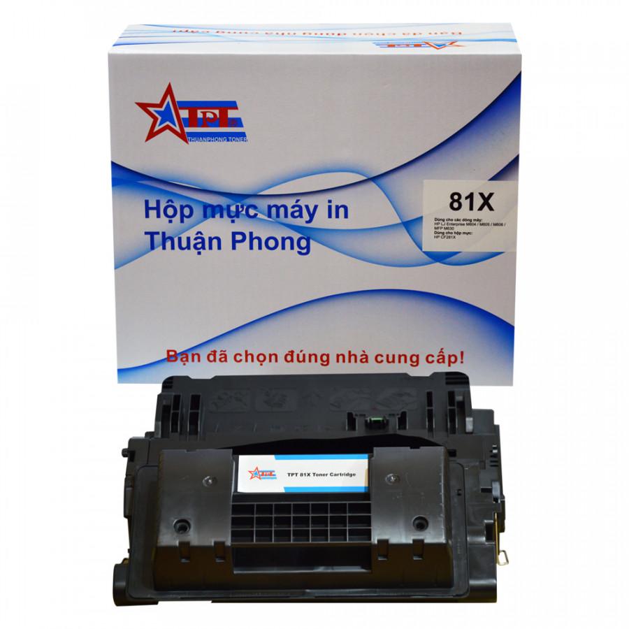 Hộp mực Thuận Phong 81X dùng cho máy in HP LJ M605 / M606 / MFP M630 - Hàng Chính Hãng