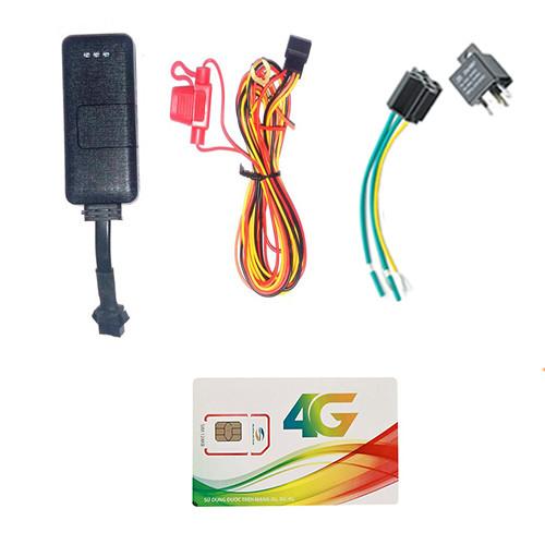 Định vị xe máy A8 tắt mở máy từ xa ( Đã gồm sim 3G 12 tháng)
