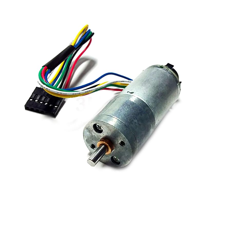 Động Cơ Giảm Tốc JGA25/370 Encoder 26 Xung