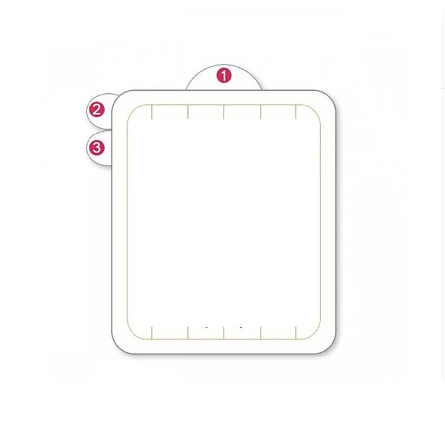 Miếng dán PPF phục hồi vết xước dành cho màn hình đồng hồ Apple Watch (38/40/42/44mm) - Hàng Nhập Khẩu