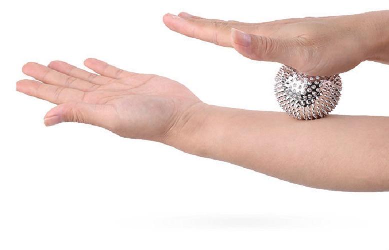 combo 2 Bóng massage tay giảm stress - bi lăn tay chân