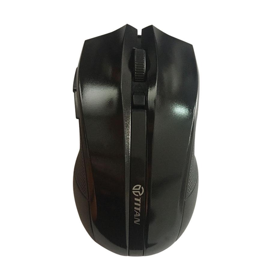 Chuột không dây kiểu dáng Gaming TITAN MB05 - Hàng chính hãng