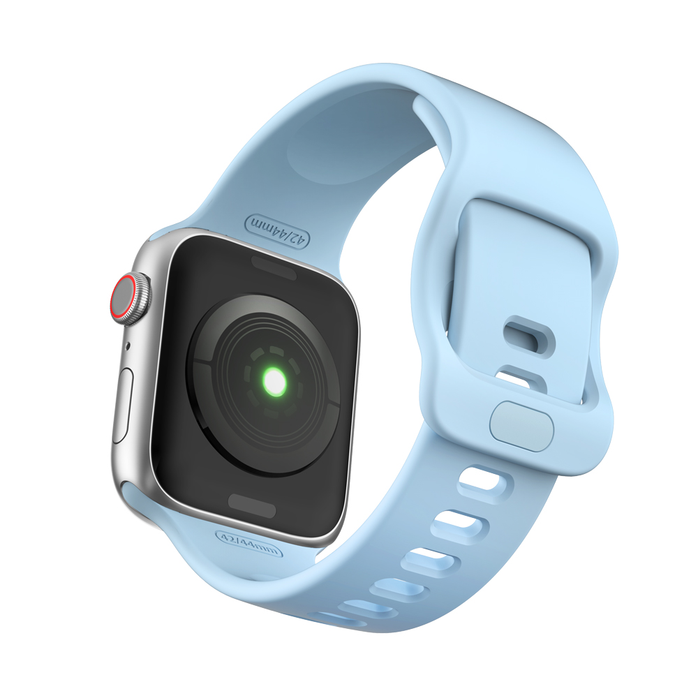 Dây Silicone Khóa Active Sport cho Apple Watch Size 38mm / 40mm / 42mm / 44mm