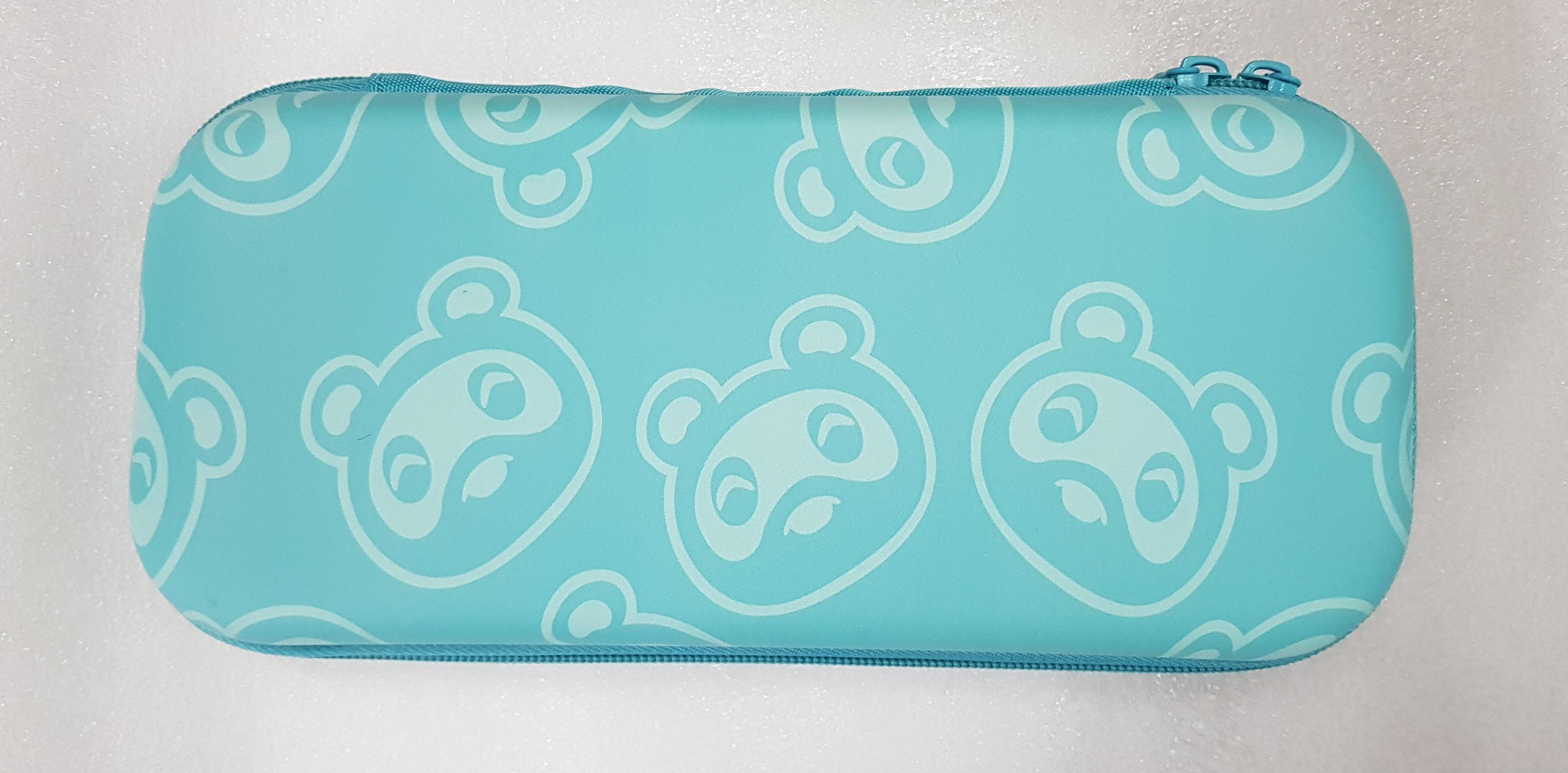 Túi đựng cho máy Switch mẫu Animal Crossing hình gấu mèo