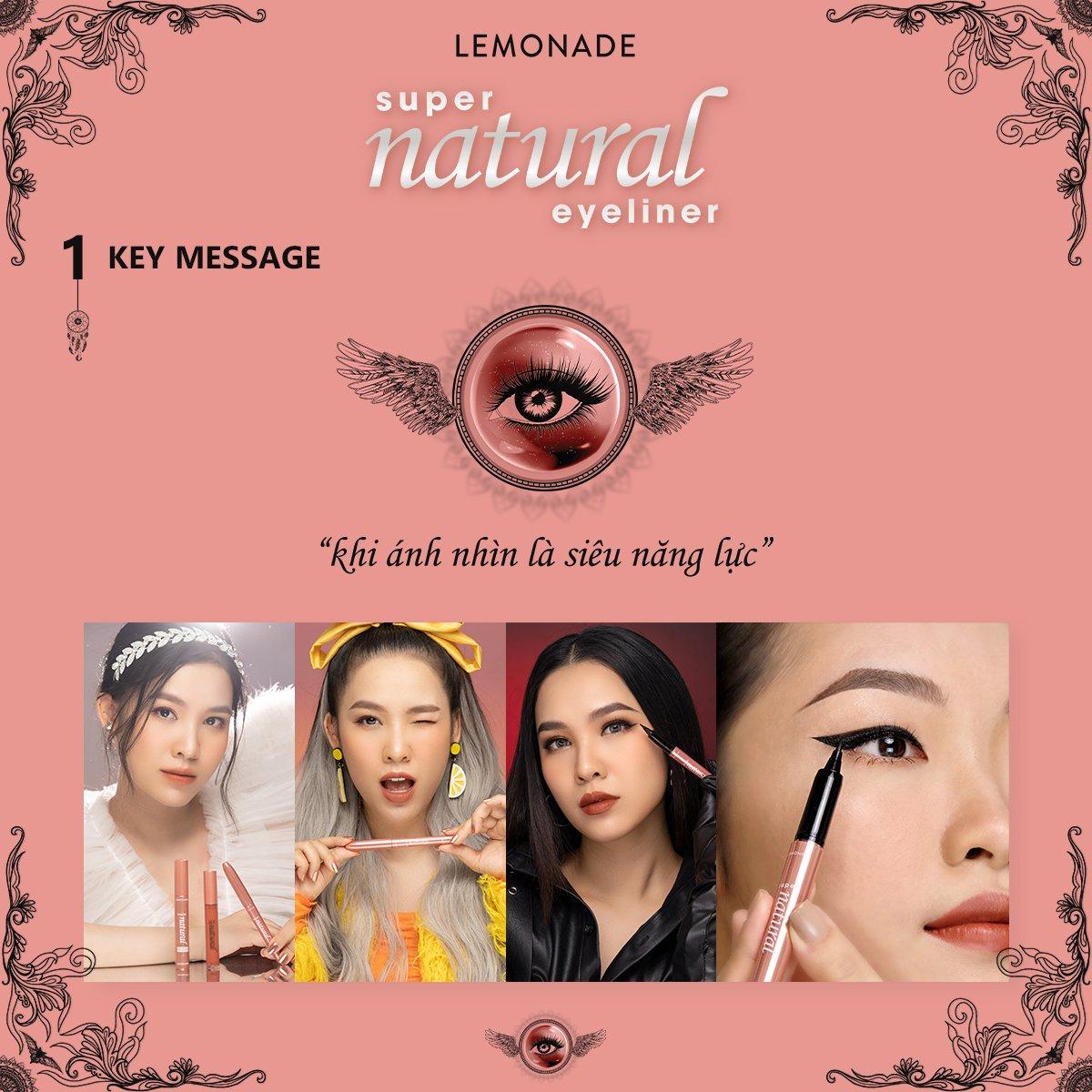 Bút kẻ mắt Lemonade SuperNatural Eyeliner 1g