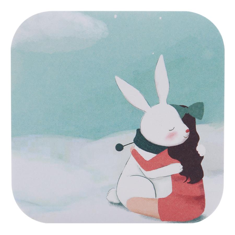 Giấy Note Vuông No.95-180 - Hình Con Thỏ