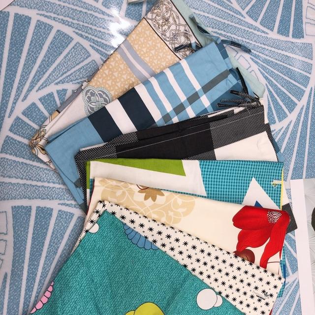 Áo Gối Nằm 50 x 70cm Cotton May Từ Vải Cotton Thắng Lợi Mẫu Hoa ( Giao ngẫu nhiên màu mẫu )