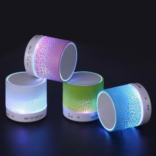Loa bluetooth mini đèn led nhấp nháy theo nhạc S90U-giao màu ngẫu nhiên