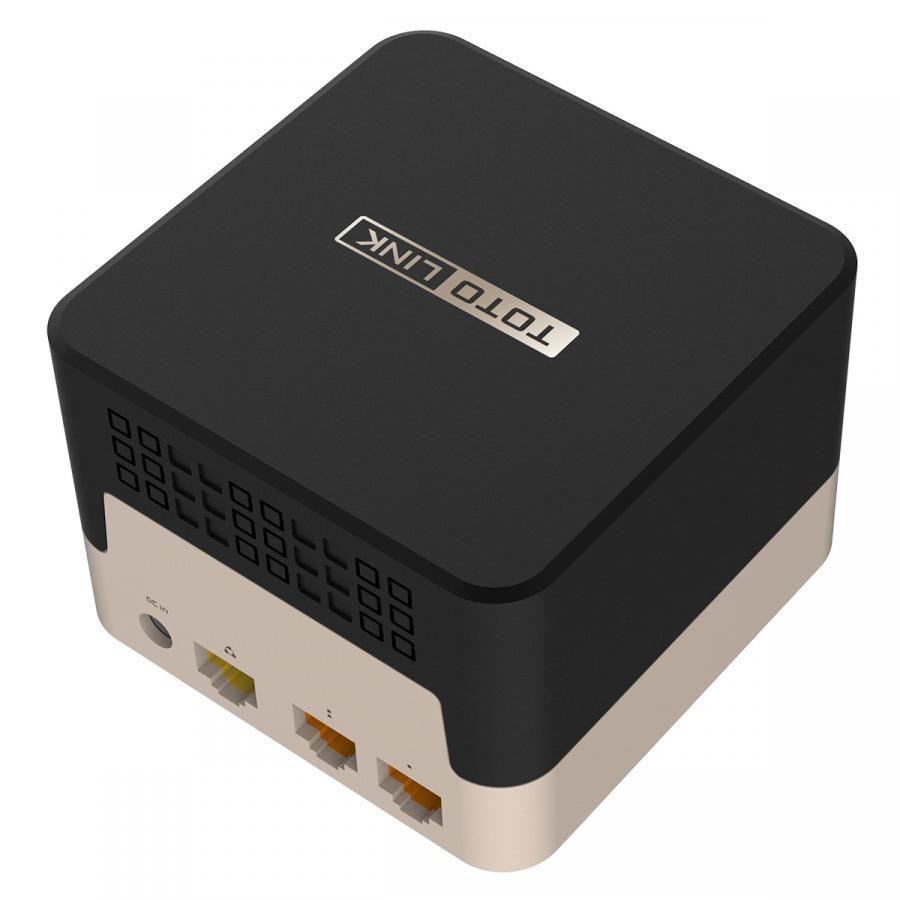 Bộ Phát Wi-Fi Dạng Lưới - Công Nghệ Mesh TOTOLINK T10 - AC1200 - Hàng Chính Hãng