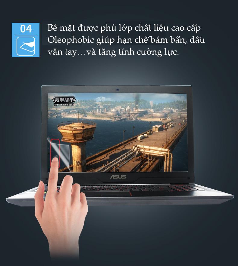 Miếng dán HD chống ánh sáng xanh bảo vệ màn hình macbook