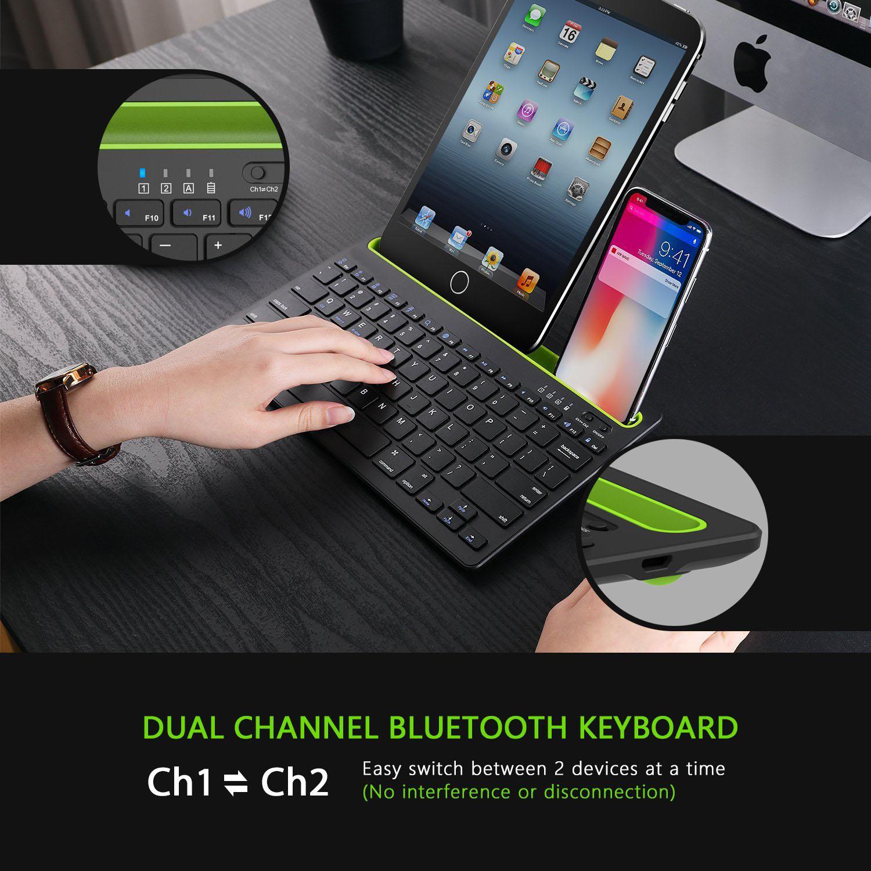Bàn Phím Bluetooth Không Dây BK230 Kết Nối Với Điện Thoại
