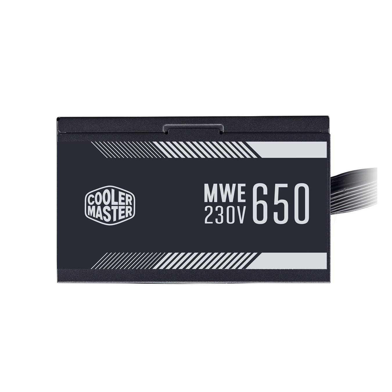 Nguồn Cooler Master MWE 650 WHITE 230V-V2- Hàng Chính Hãng