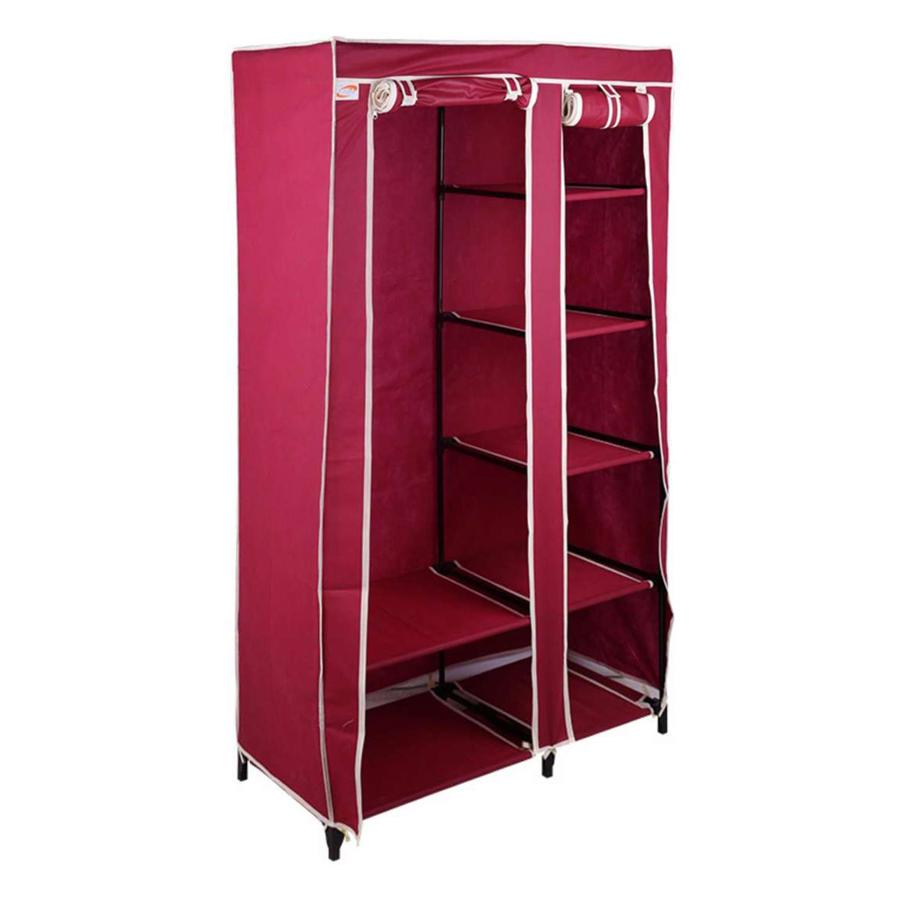 Tủ Vải Lắp Ráp Thanh Long TVAI01 - Đỏ