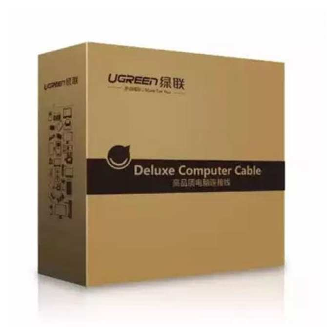 Dây cáp kết nối VGA HDB 15 đực sang HDB 15 đực dài 15M UGREEN VG101 11634 - Hàng chính hãng