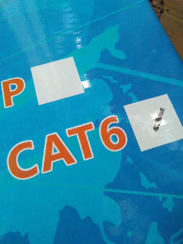 Cáp mạng CAT 6 NK0708 305m chuyên mạng nội bộ, camera IP