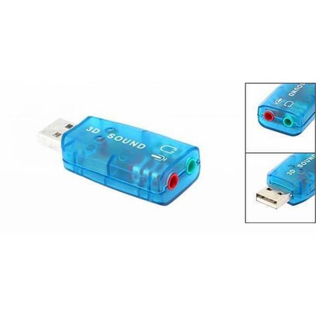USB ra Sound 5.1 âm thanh 3D (Giao Màu Ngẫu Nhiên)