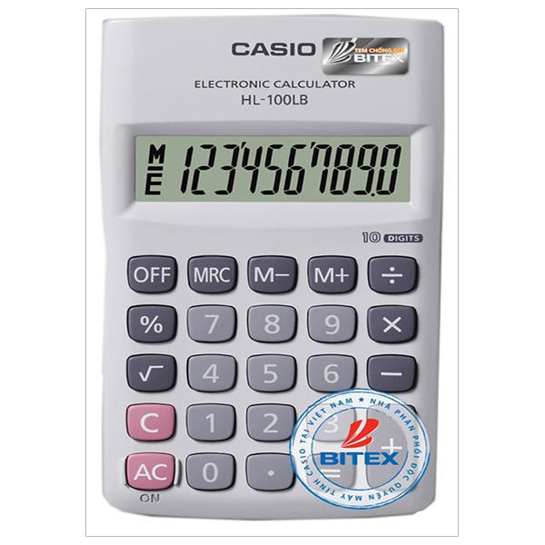 Máy tính Casio HL-100LB-W-DP