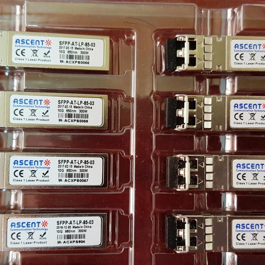Module quang 10G 850nm 300M Multi mode chính hãng