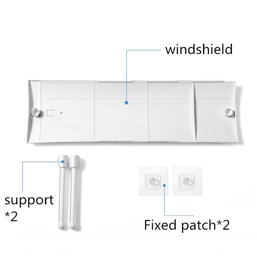 Tấm chắn đổi hướng gió điều hòa , máy lạnh D124  ( số lượng 2 tấm )
