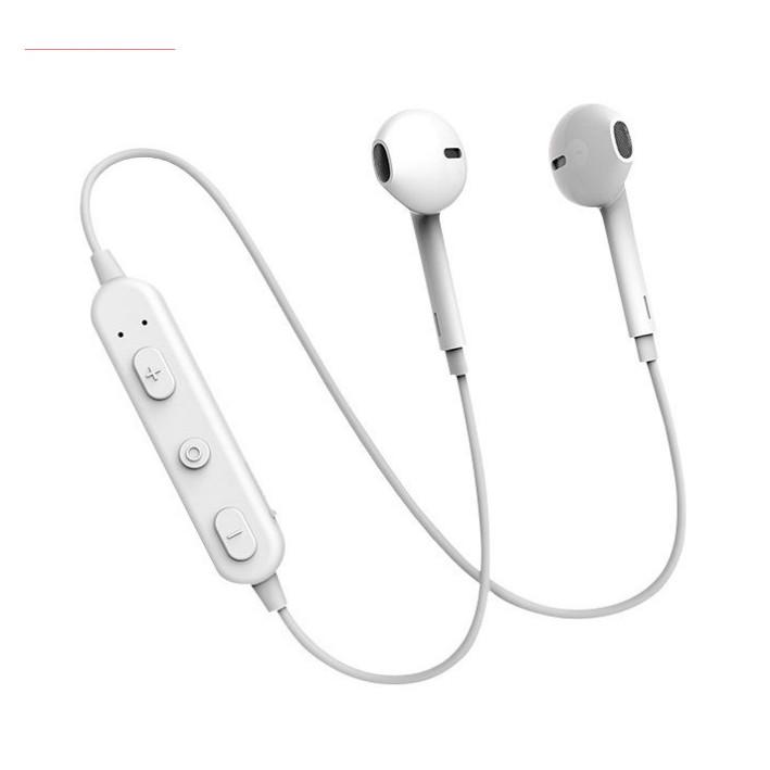 Tai Nghe Bluetooth Earlodm BH27 (2 Tai Có Dây) hàng chính hãng
