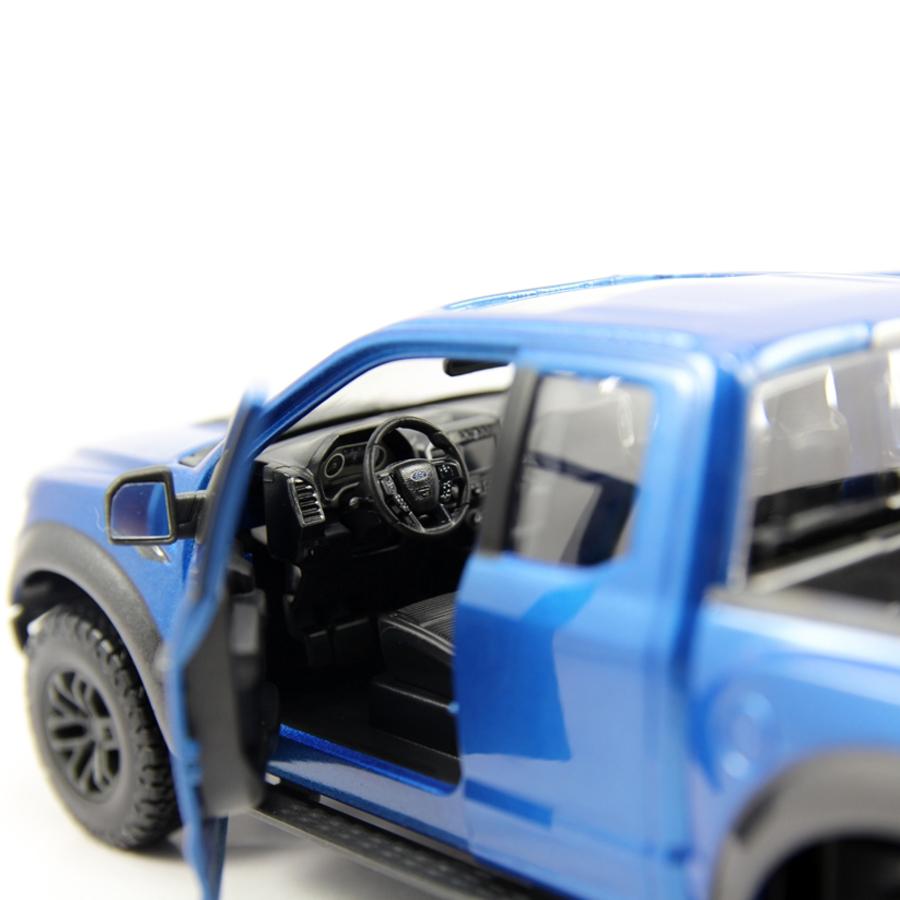 Mô Hình Xe Ford Raptor F-150 Special 2017 Blue 1:24 Maisto MH-31266