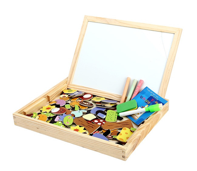 Bộ tranh ghép hình bằng gỗ cho bé 4
