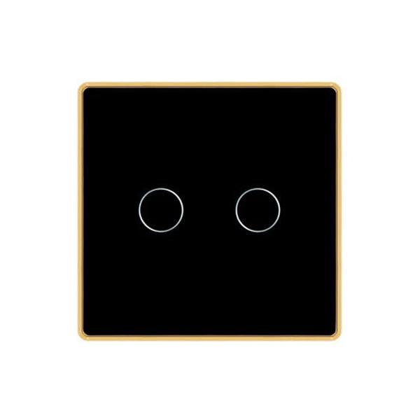 Công tắc cảm ứng vuông 2 nút