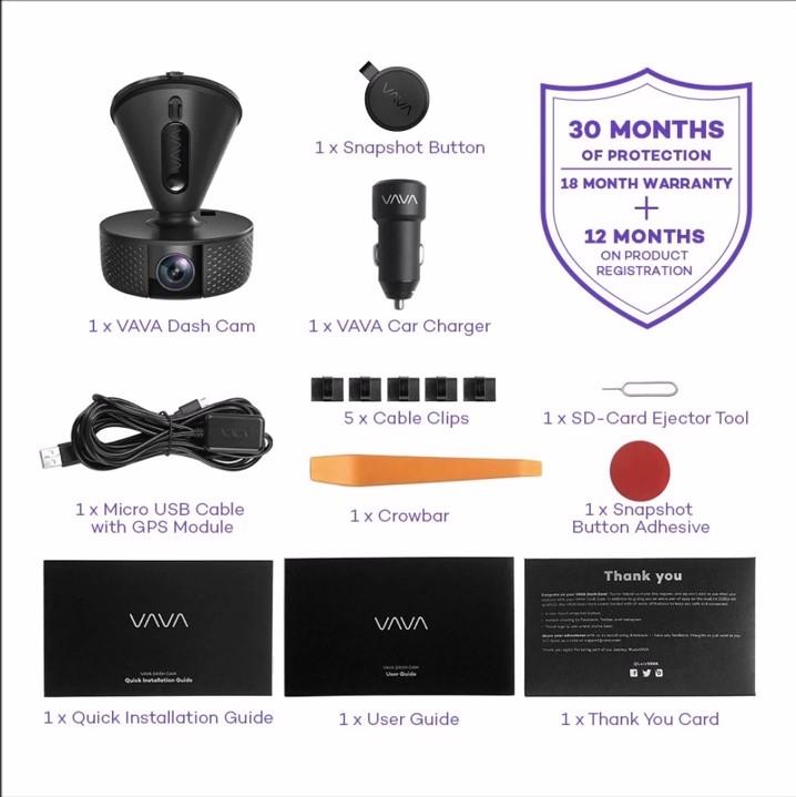 Camera Hành Trình VAVA - Hàng chính hãng
