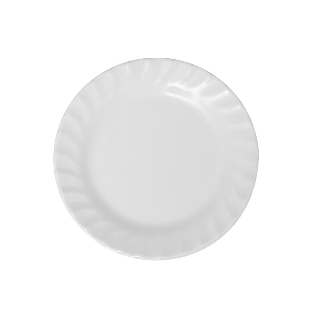 Bộ 3 Dĩa (Đĩa) 7 cạn xoắn Nhựa Xanh Family A607 WA3