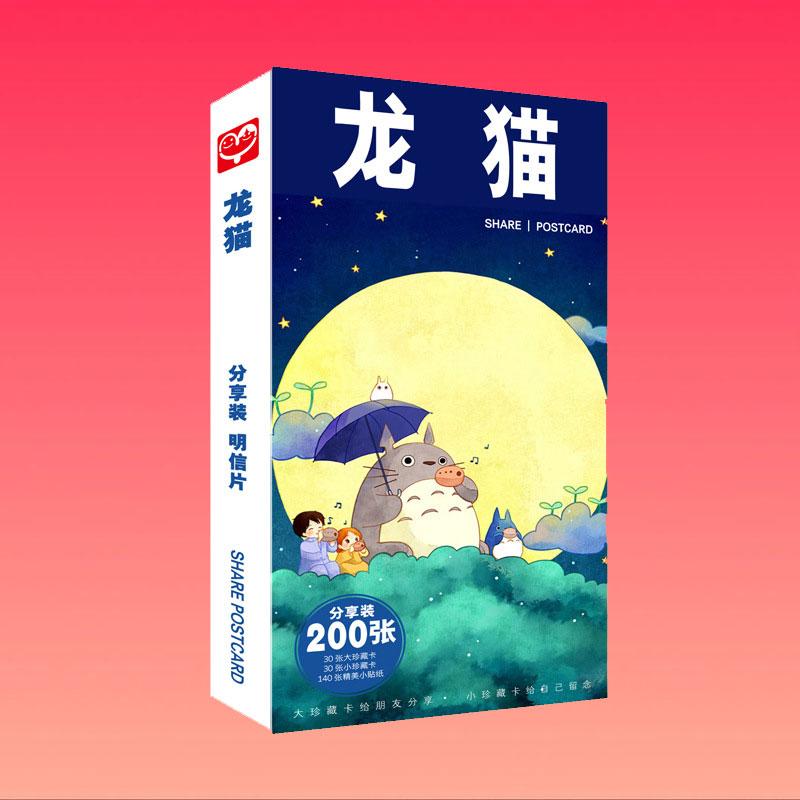 Bộ ảnh mèo Totoro postcard Totoro mẫu mới nhất