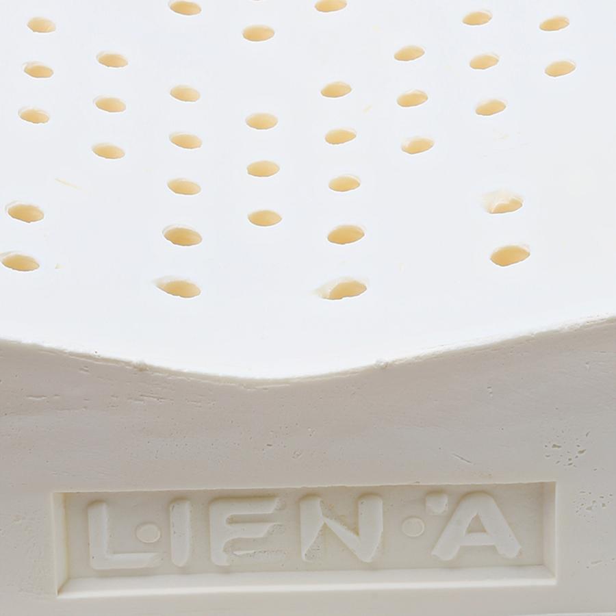 Gối Cao Su Liên Á Contour LAGC3050 (30 x 50 cm) - Trắng