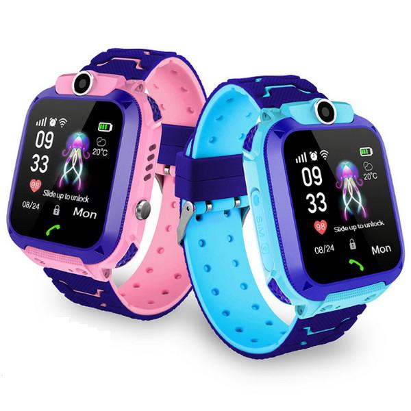 Đồng hồ thông minh theo dõi trẻ em có GPS, SOS, Camera, Cảnh báo nghe gọi 2 Chiều chống nước