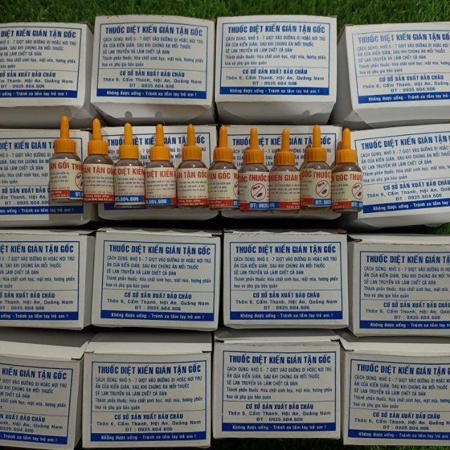 Combo 20 hộp  1 hộp 12 lọ  thuốc diệt kiến gián sinh học