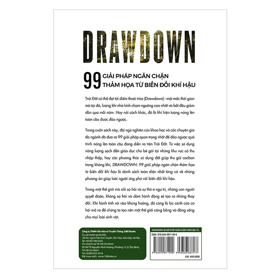 Drawdown - 99 Giải Pháp Ngăn Chặn Thảm Họa Từ Biến Đổi Khí Hậu