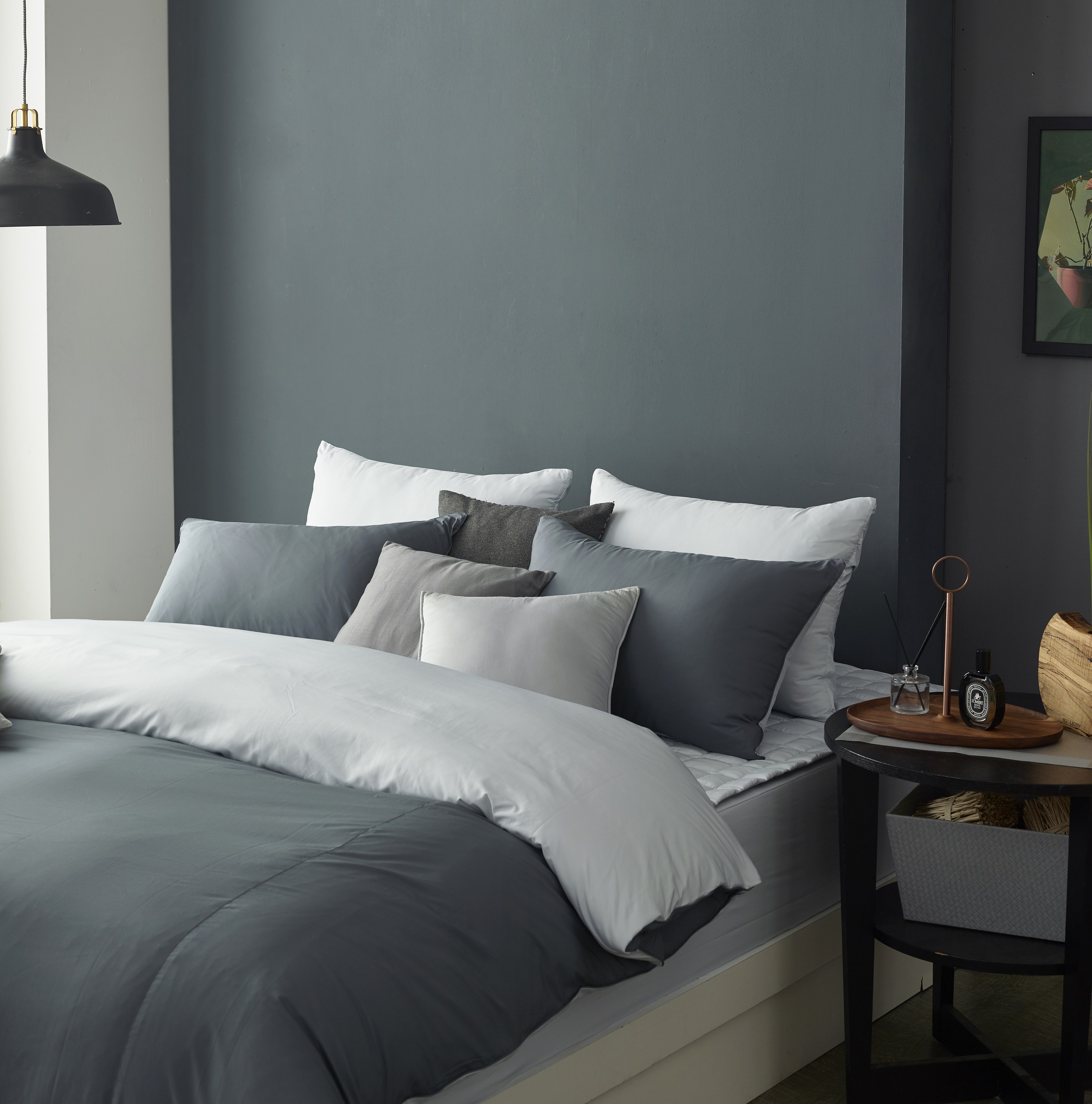 Ga phủ trải giường Sa Maison màu Misty Grey 160*200cm