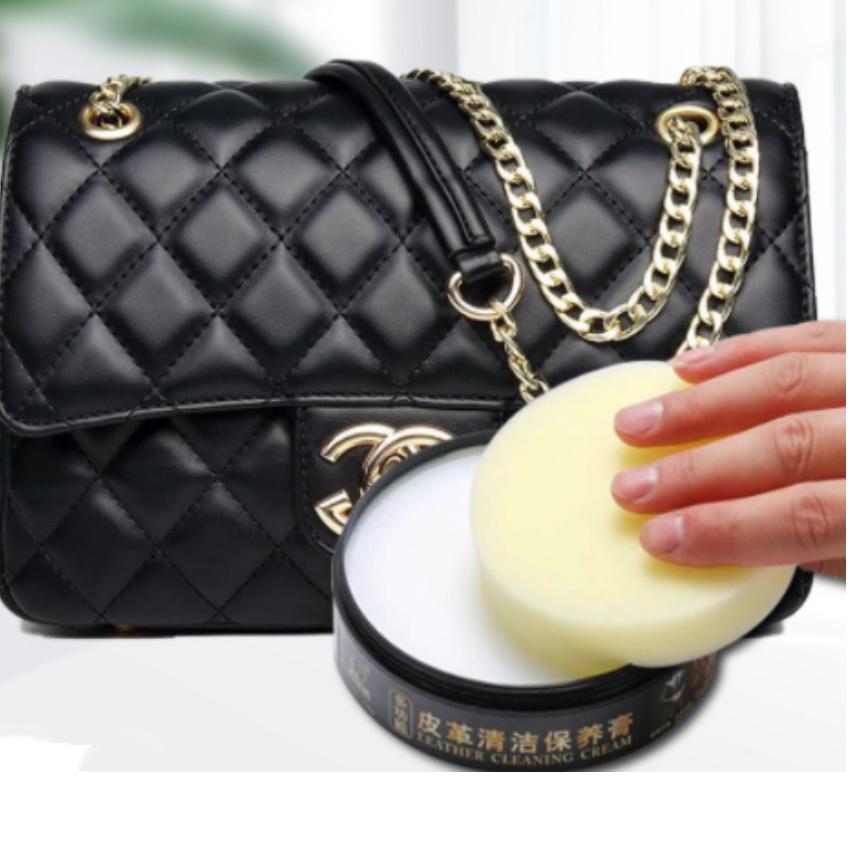 Cao lau đa năng, sáp lau đa năng tinh dầu,Sáp lau túi xách , làm trắng giày dép 206740-1 (đen)